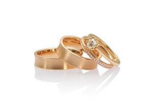 partnerringe rosegold brillanten
