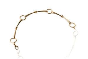 bracelet gelbgold trense