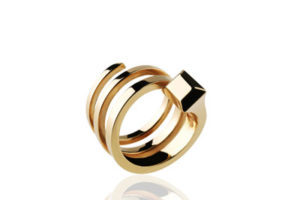 ring gelbgold hufnagel