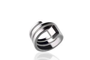 ring silber hufnagel