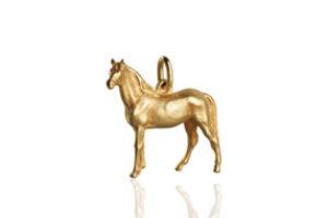 schmuck anhänger pferd
