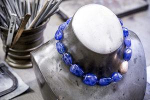 Bijouterie Stadelmann Collier blaue Edelsteine