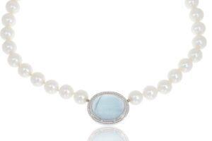 Perlenkette Südseeperlen